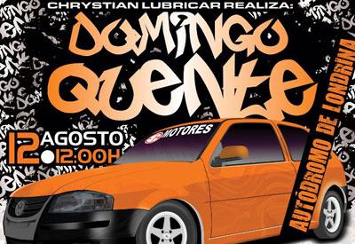 Flyer: Domingo Quente 12/08