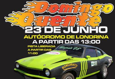 Flyer: 3º Domingo Quente 2013