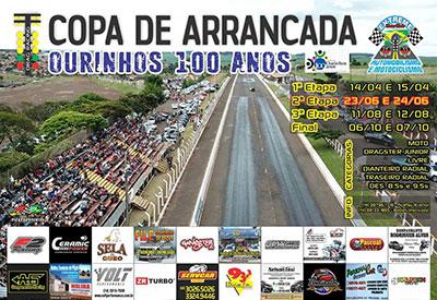 Flyer: 2ª Etapa - Copa Arrancada Ourinhos 100 anos