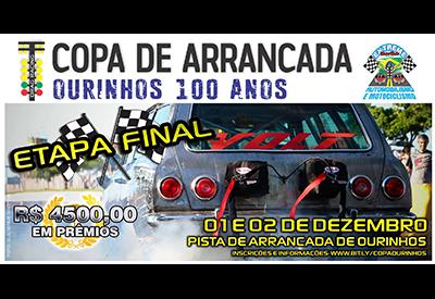 Flyer: 4ª Etapa - Copa Ourinhos 100 anos