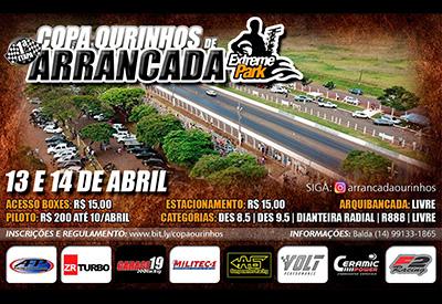 Flyer: 1ª Etapa Ourinhos 201m