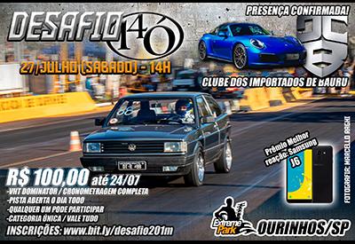 Flyer: Desafio 14Ó