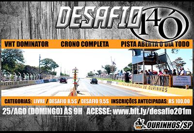 Flyer: Desafio 14ó Ourinhos