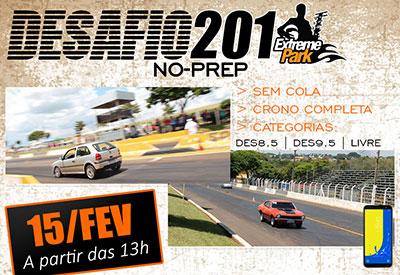 Flyer: 1º Desafio NO-PREP